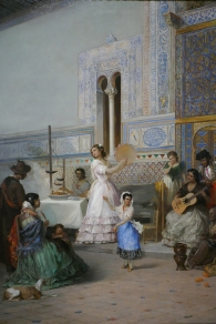 """Life at the Sevilla's Alcazar"", Malaga, Perspectives with Panache, 2020"