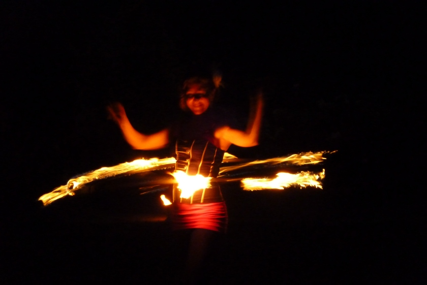 Portland Fire Dancer, Perspectives with Panache, 2012